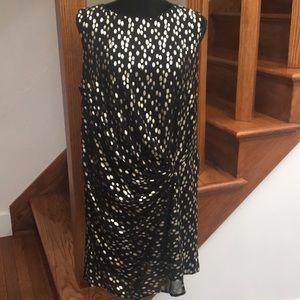 Forever 21 Black & Gold Dress